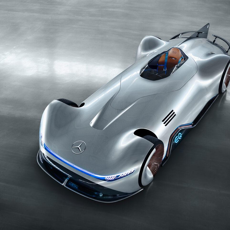 Chapter.digital, Zurück in die Zukunft, Concept Cars, Mercedes Vision EQ Silver Arrow